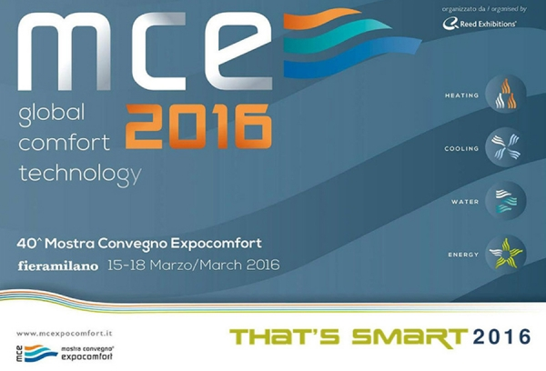 Έκθεση MCE GLOBAL COMFORT TECHNOLOGY 2016